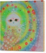 Wisdom Of  The Owl  Wood Print
