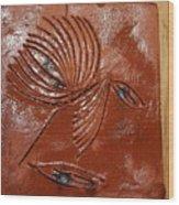 Wise Eyes - Tile Wood Print