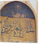 Wise Men Reaching Beit Sahour Wood Print