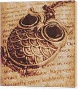 Wise Words And Keepsakes Wood Print