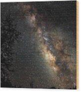 Wish Upon The Stars  4662 Wood Print
