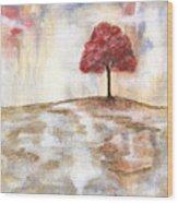 Wishing Tree Wood Print