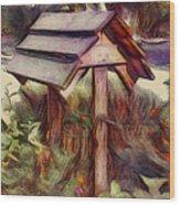 Wishing Well Wood Print