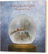 Wishing You A Magical Christmas Time Wood Print
