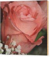 Wishing You Happiness Card Wood Print