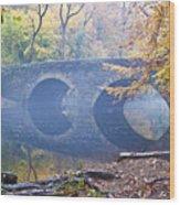 Wissahickon Creek At Bells Mill Rd. Wood Print