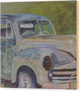 Wistful In Winchendon Wood Print