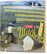 Witchcraft Bombs Away  Wood Print