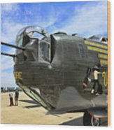 Witchcraft Wwii Bomber Wood Print