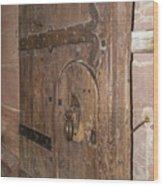 Witches Bite Door Heidelberg Castle Wood Print