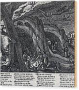 Witches Sabbath, 1630 Wood Print