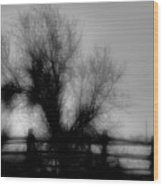 Witching Tree Wood Print