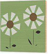 Witco Flowers  Wood Print