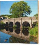 Withypool Bridge Wood Print