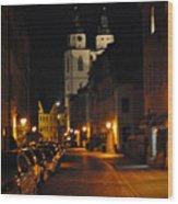 Wittenberg Night Wood Print
