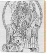 Wizard IIi - The Family Portrait Wood Print