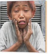 Woe Is Me 2 Wood Print