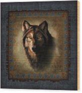 Wolf Lodge Wood Print