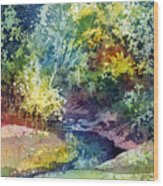 Wolf Pen Creek Wood Print
