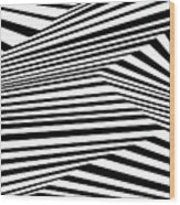 Wolf Point Wood Print