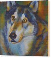 Wolf Spirit Wood Print