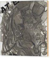 Wolfclan Wood Print