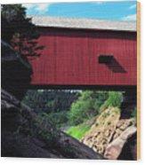 Wolfe River  Wood Print
