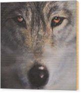 Wolfrick Wood Print