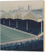Wolverhampton - Molineux - Molineux Street Stand 2 - Leitch - 1970s Wood Print