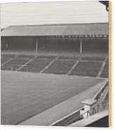 Wolverhampton - Molineux - South Terrace 1 - Bw - Leitch - September 1968 Wood Print