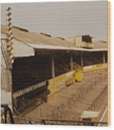 Wolverhampton - Molineux - Waterloo Road Stand 2 - Leitch - 1970s Wood Print