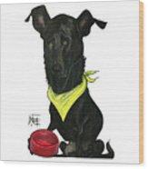Womack 3291 Charlie Wood Print