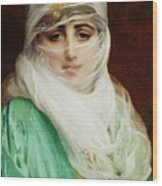Woman From Constantinople Wood Print
