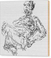 Woman In Repose 4483 Wood Print