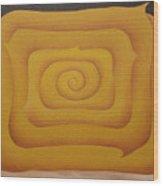 Woman In Yellow 2008 Wood Print
