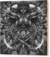 Woman Infinity Wood Print