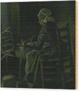 Woman Winding Yarn Nuenen, March 1885 Vincent Van Gogh 1853 - 1890 Wood Print