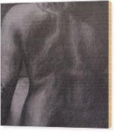Woman's Back Wood Print