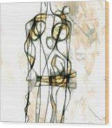 Women 3981 Wood Print