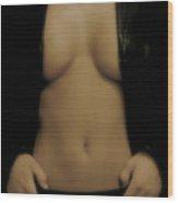 Women Body - Front Wood Print