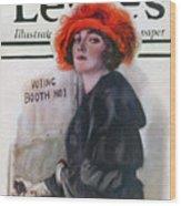 Women Voting, 1920 Wood Print