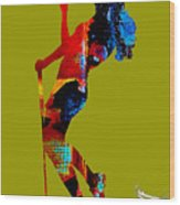 Womens Golf Collection Wood Print