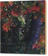 Wonder Tree Detail 2 Wood Print