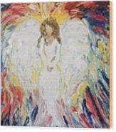 Wonderful Angel Wood Print