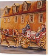 Wonderful Carriage Ride Wood Print