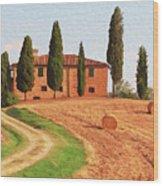 Wonderful Tuscany, Italy - 02 Wood Print