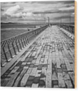 Wood And Pier Wood Print
