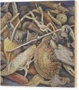 Wood Creatures Wood Print
