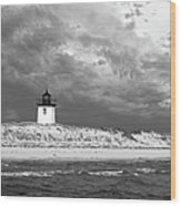 Wood End Lighthouse Provincetown Wood Print