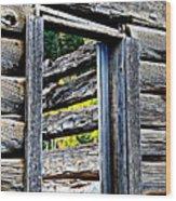 Wood Grain Wood Print